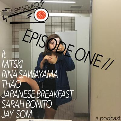 Cover art for SUSHI SOUND EP 1 w/ myself