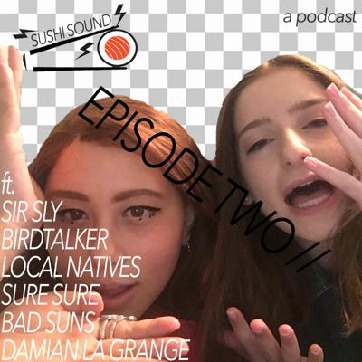 Cover art for SUSHI SOUND EP 2 w/ Isabel