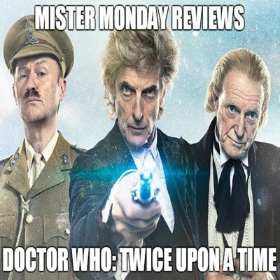 Cover art for Doctor Who: Twice Upon A Time Review