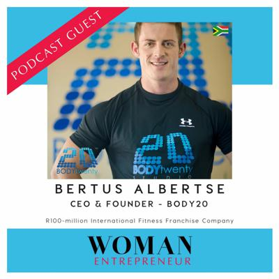 Cover art for Woman Entrepreneur Podcast Show #287 with Bertus Alberts