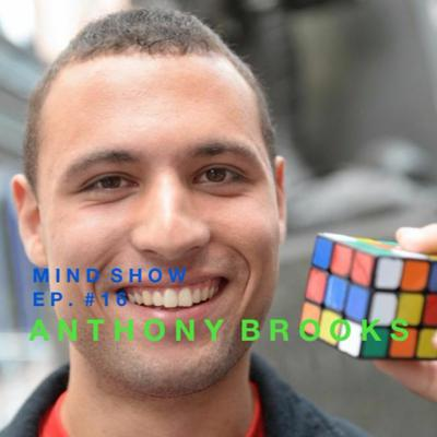 Cover art for Nelson Dellis' MIND SHOW - Anthony Brooks // Speed Cubing Champ