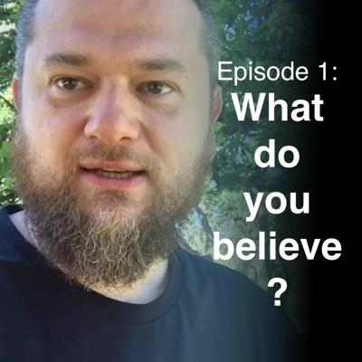 Cover art for #1: What do you believe? // Islamic StartUp