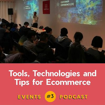Cover art for #3 Ecommerce Tools, Technologies, & Tips