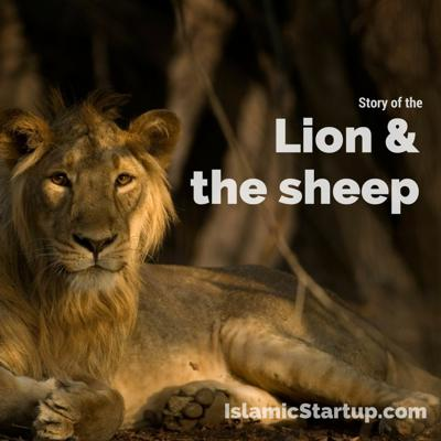 Cover art for Story of the Lion and the Sheep