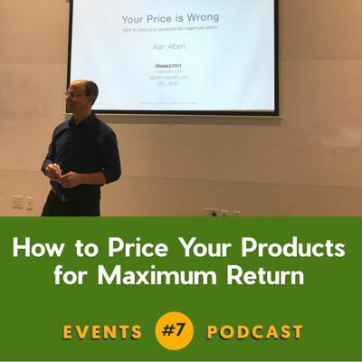 Cover art for #7 How to Price Your Products for Maximum Return