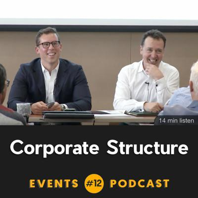 Cover art for #12 Corporate Structure