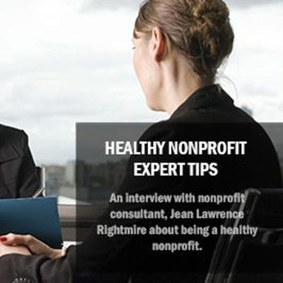 Cover art for Episode 11 - Healthy Nonprofit Expert Tips