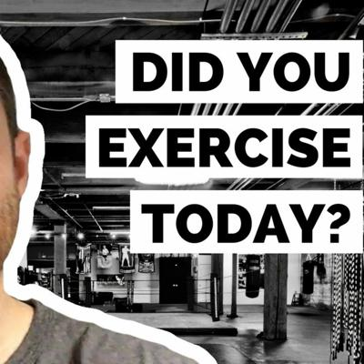 Cover art for #DailyGrowth 94 - Did You Exercise Today? Will You Exercise Tomorrow?