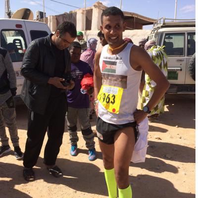 Cover art for World Service package: Western Sahara's Champion Athlete