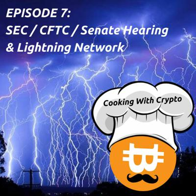 Cover art for 007: 2018 Prices, SEC/CFTC/Senate Hearing, and the Lightning Network