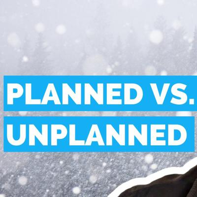 Cover art for #DailyGrowth 98 - Planned vs. Unplanned Work