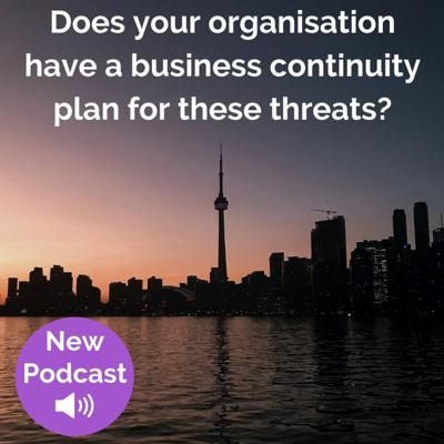 Cover art for Does your organisation have a business continuity plan for these threats?