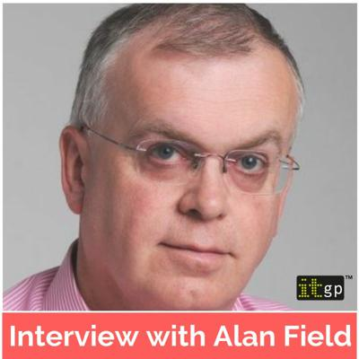 Cover art for Interview with author of the month, Alan Field