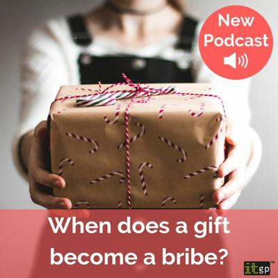 Cover art for When does a gift become a bribe?