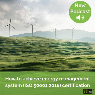 Cover art for How to achieve energy management system (ISO 50001:2018) certification