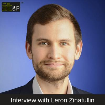 Cover art for Interview with author Leron Zinatullin