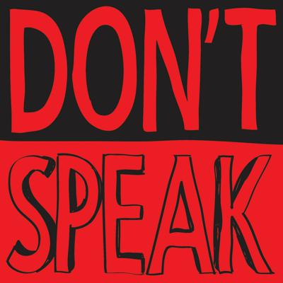 Cover art for Don't Speak with actor Harrie Hayes