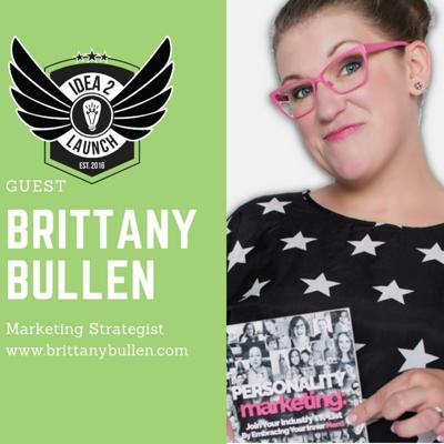 Cover art for Brittany Bullen - Marketing Strategist, Mindset Coach, and Author