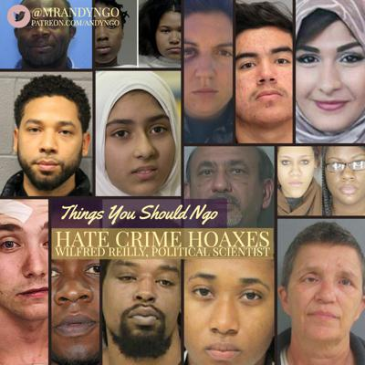 Hate Crime Hoaxes ft. Wilfred Reilly