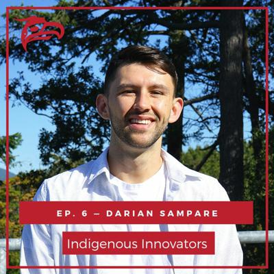 Cover art for Darian Sampare on Amplifying Indigenous Voices