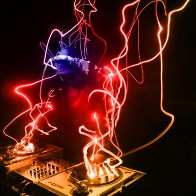 Cover art for a disco,deep and techno melodic mix live@PARIS  FRANCE