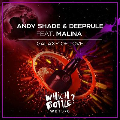 Cover art for Andy Shade & Deeprule Ft. Malina - Galaxy Of Love