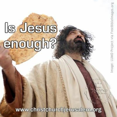 Cover art for Is Jesus enough?
