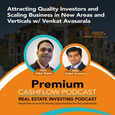 Cover art for SK126 - Attracting Quality Investors and Scaling Business in Areas and Verticals w/ Venkat Avasarala