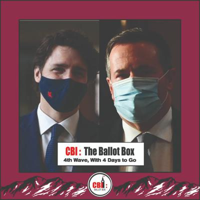 Cover art for The Ballot Box EP. 24 4th Wave, With 4 Days To GO