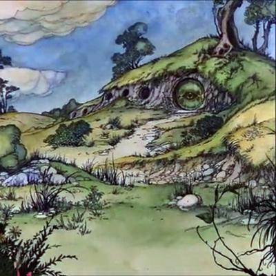 Cover art for The Hobbit (feat. Chris Woodward)