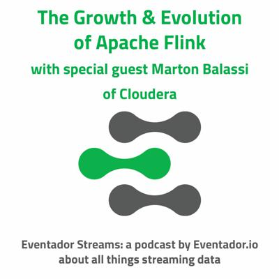 Cover art for The Growth & Evolution of Flink with special guest Marton Balassi