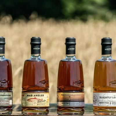Cover art for Michigan Business Beat   Iron Fish Distillery Releases Estate Grown Line of Spirits
