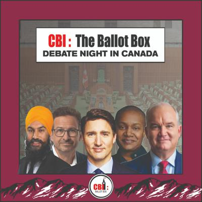 Cover art for The Ballot Box  EP. 21 Debate Night In Canada
