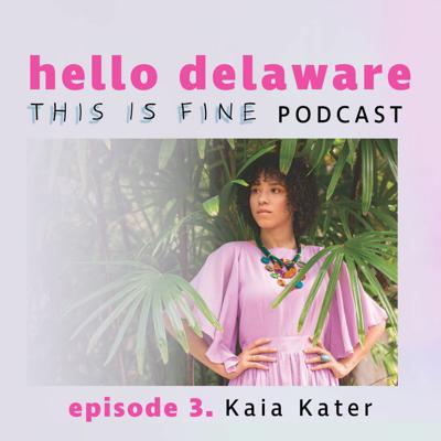 Cover art for This is Fine Kaia Kater is here! (episode 3)