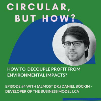Cover art for Episode 04: How to decouple profit from environmental impacts with Daniel Böckin