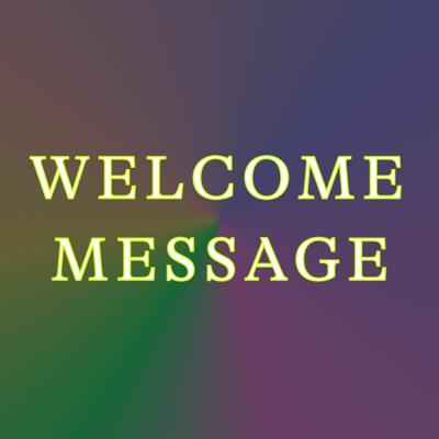 Cover art for Artists-In-Presidents: Transmissions to Power – Welcome Message