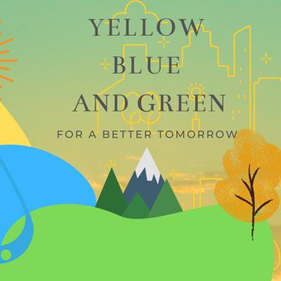 Yellow, Blue and Green