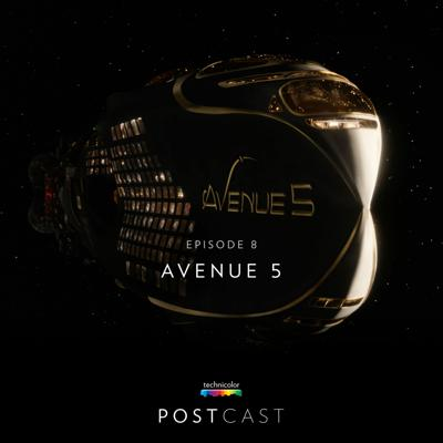 Cover art for 8 — 'Avenue 5': Behind the VFX with Supervising Producer Simon Frame and Technicolor VFX