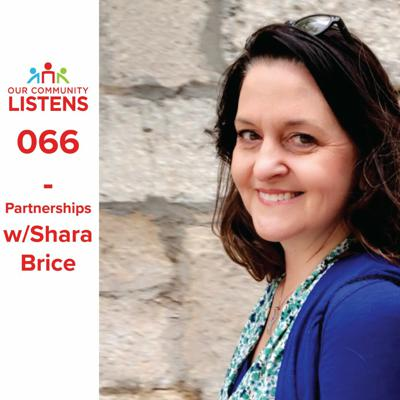 Cover art for 066 - Partnerships w/Shara Brice