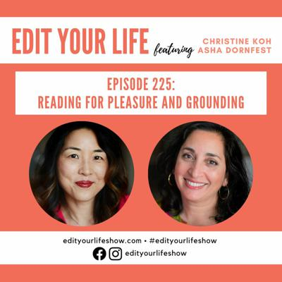 Cover art for Reading for Pleasure and Grounding   Episode 225