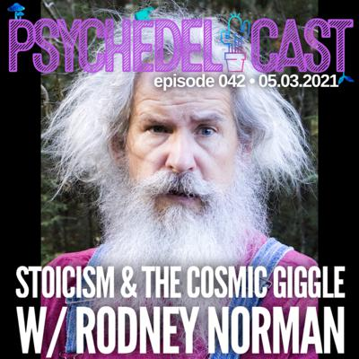 Cover art for 042 Stoicism & The Cosmic Giggle w/ Rodney Norman