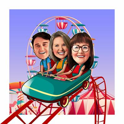 Cover art for Welcome to the Rollercoaster Ride of Parenting Podcast