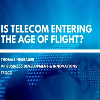 Cover art for Is Telecom Entering The Age Of Flight?