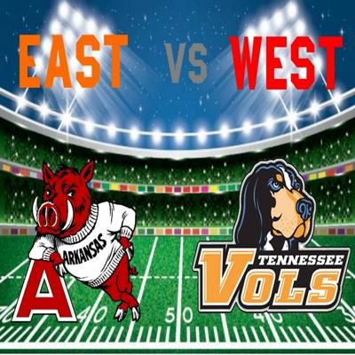 Cover art for East vs West Emergency Pod: Holy Crap Tennessee!