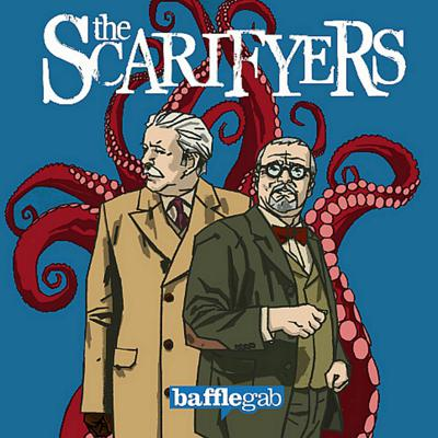 Cover art for The Scarifyers- The Curse Of The Black Comet - 5/5