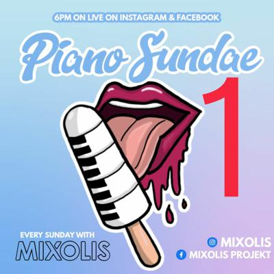 Cover art for PIANO SUNDAE 1 Facebook & Instagram Live 03 05 2020 AMAPIANO MIX