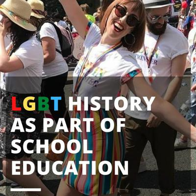 Cover art for LGBT History as part of school education