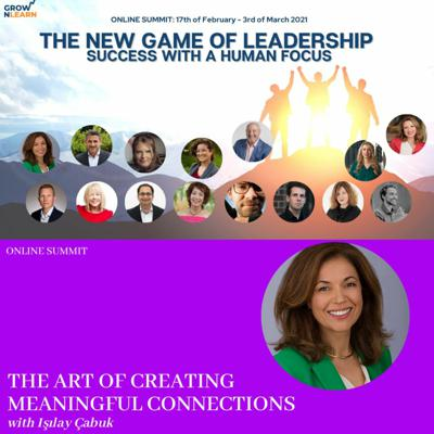 Cover art for The art of creating meaningful connections – IŞILAY ÇABUK