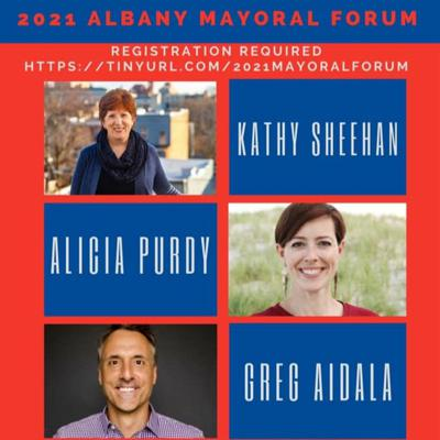 Cover art for Albany Mayoral Debate-Long