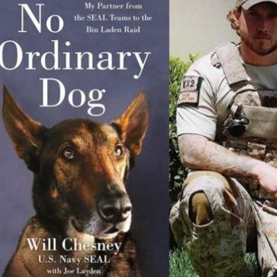 Cover art for No Ordinary Dog Navy Seal Will Chesney and his hero dog Cairo